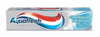 Аквафреш сияющая белизна зубная паста 100мл