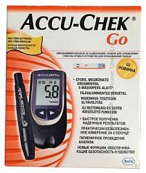 Акку-чек гоу глюкометр набор