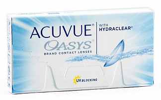 Акувью оазис линзы контактные r8.4 -3,00 1 шт.