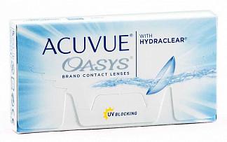 Акувью оазис линзы контактные r8.4 -4,00 1 шт.