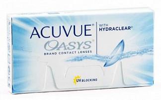 Акувью оазис линзы контактные r8.4 -6,50 1 шт.