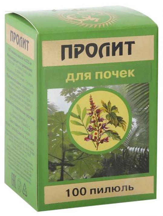 Пролит пилюли 100 шт., фото №1