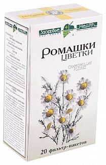 Ромашки цветки 20 шт. фильтр-пакет здоровье