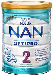 Нестле нан оптипро 2 смесь молочная 800г