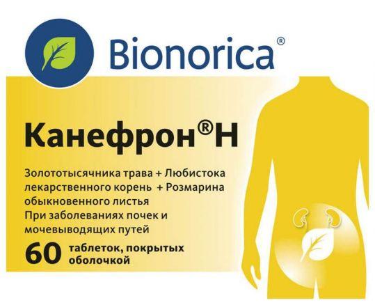 Канефрон h 60 шт. таблетки покрытые оболочкой, фото №1
