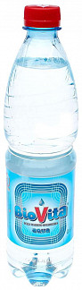 Биовита вода минеральная 0,6л