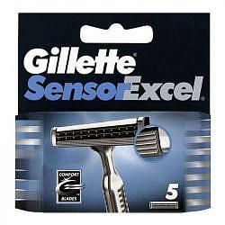 Жиллет сенсор иксель кассеты 5 шт.