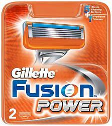 Жиллет фьюжен пауэр кассеты 2 шт.