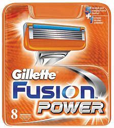 Жиллет фьюжен пауэр кассеты 8 шт.