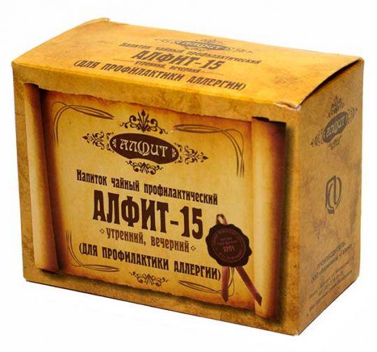 Алфит 15 противоаллергический фитосбор утренний/вечерний 2г 60 шт., фото №1