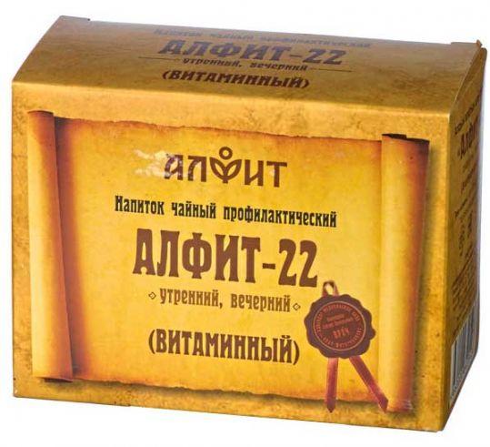 Алфит 22 витаминный сбор лекарственный 2г 60 шт., фото №1