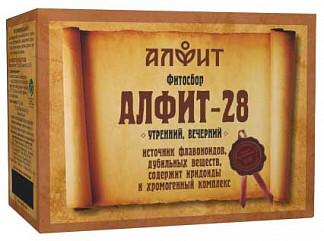 Алфит 28 профилактика дисбактериоза сбор лекарственный 2г 60 шт.