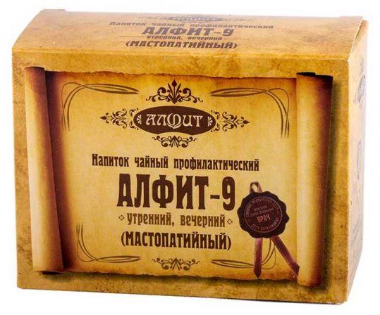 Алфит 9 мастопатийный брикет 2г 60 шт., фото №1
