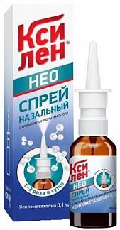 Ксилен нео 0,1% 15г спрей назальный с ароматом камфоры и ментола