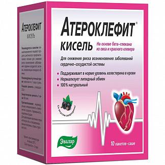 Атероклефит кисель черная смородина 25г 10 шт. саше