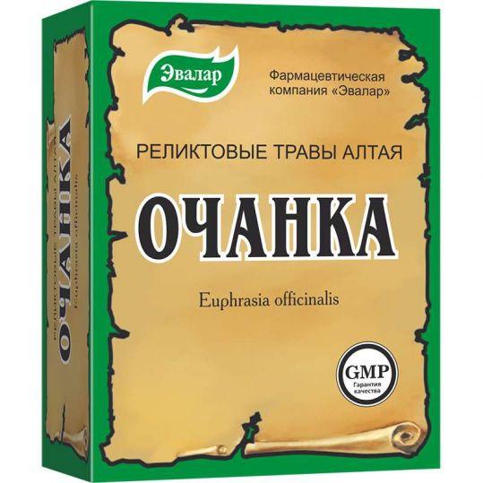 Очанка лекарственная трава 50г эвалар, фото №1