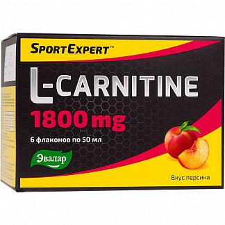 Спортэксперт l-карнитин 1800мг 50мл 6 шт.