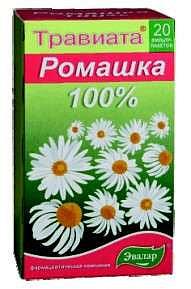 Травиата травяной чай ромашка 20 шт. фильтр-пакет эвалар