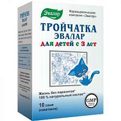 Тройчатка эвалар для детей порошок 3,6г 10 шт. эвалар