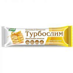 Турбослим батончик белковый ванильное печенье 50г