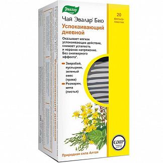 Эвалар био успокаивающий дневной чай 20 шт. фильтр-пакет эвалар