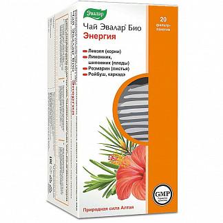 Эвалар био энергия чай 1,5г 20 шт. фильтр-пакет