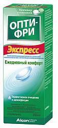 Опти-фри экспресс раствор для контактных линз 355мл