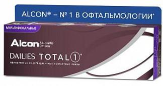 Дейлис тотал 1 линзы контактные мягкие -1,25 30 шт.
