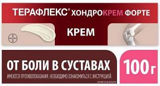 Терафлекс хондрокрем форте 1%+5% 100г крем для наружного применения