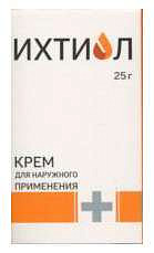 Ихтиол крем 10% 25г