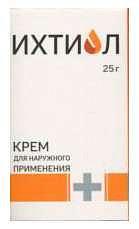 Ихтиол крем 20% 25г