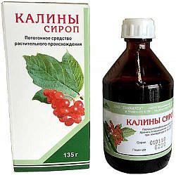 Калина 100мл сироп