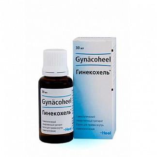 Гинекохель 30мл капли гомеопатические biologische heilmittel heel gmbh