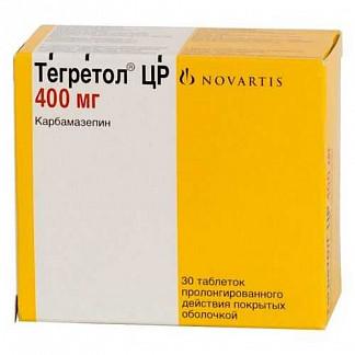 Тегретол цр ретард 400мг 30 шт. таблетки