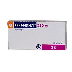 Тербизил 250мг 28 шт. таблетки