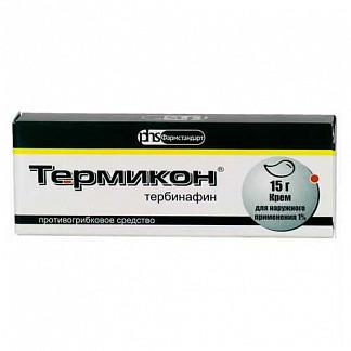 Термикон 1% 15г крем для наружного применения
