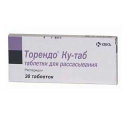 Торендо ку-таб 2мг 30 шт. таблетки для рассасывания