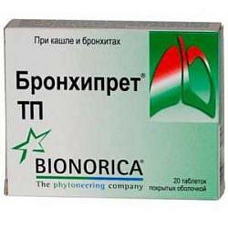 Бронхипрет тп 20 шт. таблетки покрытые пленочной оболочкой