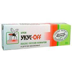 Укус офф крем п/укусов комаров 30г