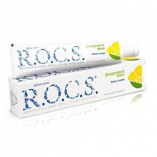 Рокс зубная паста мята-лимон 74г