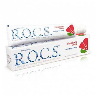 Рокс зубная паста грейпфрут-мята 74г