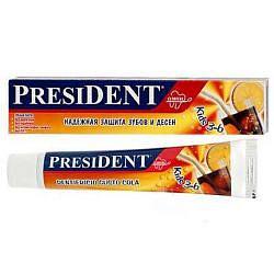 Президент кидс зубная паста-гель для детей 3-6лет со вкусом колы 50мл