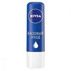Нивея бальзам для губ базовый уход (85061) 4,8г