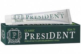 Президент классик зубная паста ежедневный уход и защита 100мл