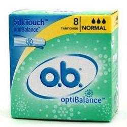 О.б. оптибаланс тампоны нормал 8 шт.