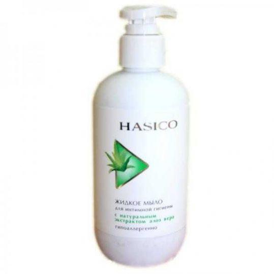 Хасико мыло интимное 250мл алоэ вера, фото №1