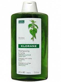 Клоран шампунь для жирных волос себорегулирующий с крапивой 400мл