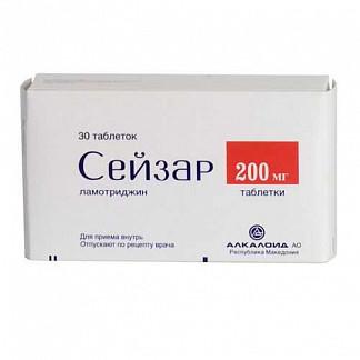 Сейзар 200мг 30 шт. таблетки