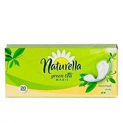 Натурелла зеленый чай прокладки ежедневные нормал 20 шт.