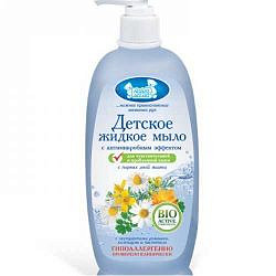 Наша мама мыло жидкое с антимикробным эффектом для чувствительной и проблемной кожи (9125-1) 250мл